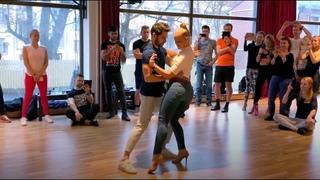 Dancing Bachata Sensual in Helsinki - Kiko & Christina