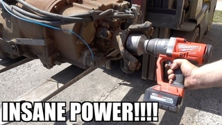 WORLDS MOST POWERFUL CORDLESS IMPACT!!!! INSANE RESULTS!!!