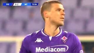 Дебют Кокорина за Фиорентину. Вот что он показал в матче против Интера. Фиорентина - Интер 0:2