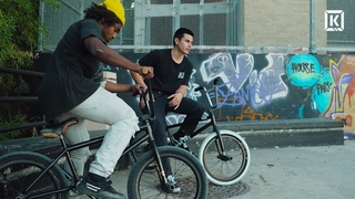 Jacob Cable & Casey Starling House Park Session! - Kink BMX