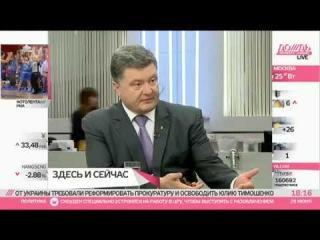 """Петро Порошенко: Інтерв'ю телеканалу """"Дождь"""""""