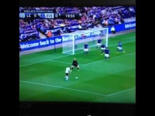 mcgeady amazing goal vs leicester city 1-0 2014