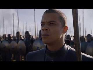 Game of Thrones, Daenerys Targaryen showing off her army (season 7 episode 7)