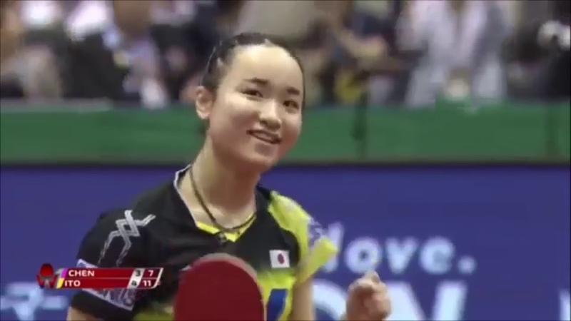 Как Mima Ito парит своих соперниц скидками слева