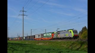 Bözberg Bahnverkehr am  – Bahnverkehr während des Lockdowns