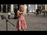 Sammie Jay Killing Me Slowly - Amazing Barefoot Street Performers stuns London public with her voice.mp4