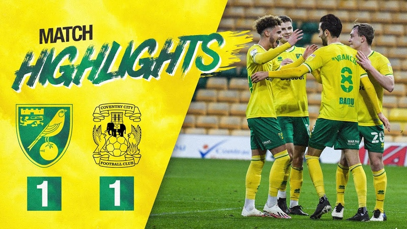 HIGHLIGHTS   Norwich City 1-1 Coventry City