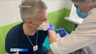 Артур Парфенчиков сделал прививку от коронавируса