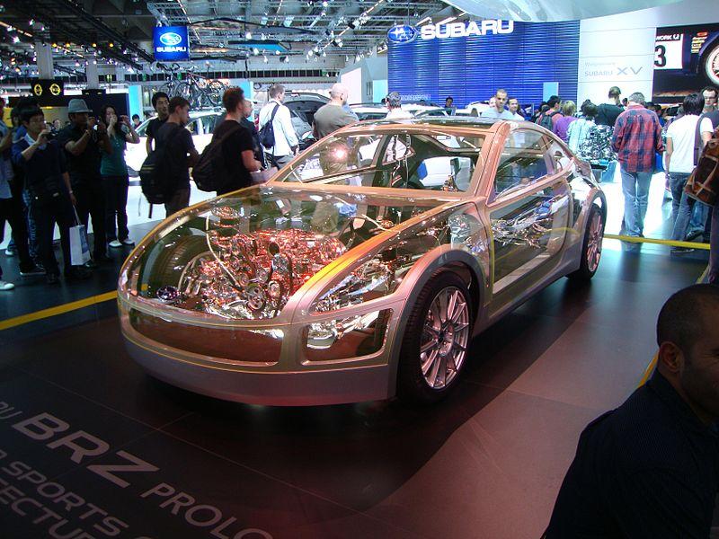 Subaru BRZ Prologue (2011)