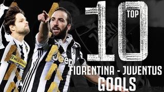 Fiorentina v Juventus - Top 10 Juventus Goals | Bentancur, Diego, Higuain & More! | Juventus