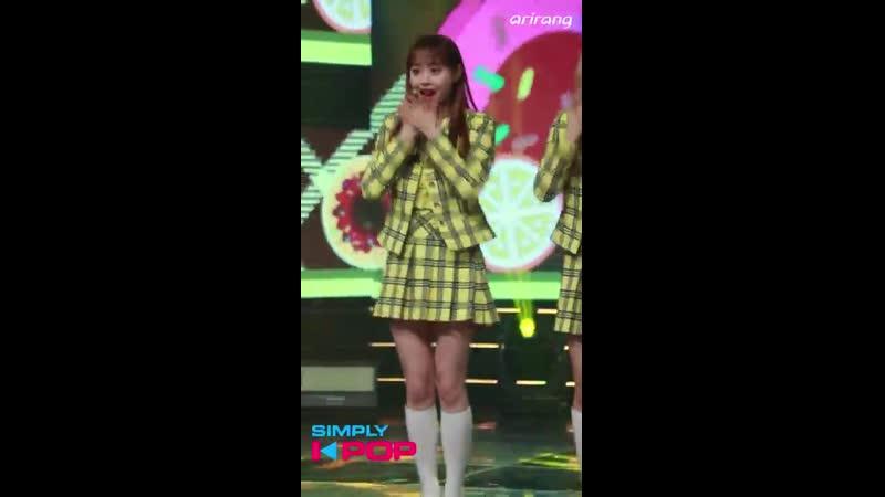 Fancam 직캠 Chuu 츄 LOONA yyxy 이달의 소녀 yyxy love4eva Simply K Pop 062918