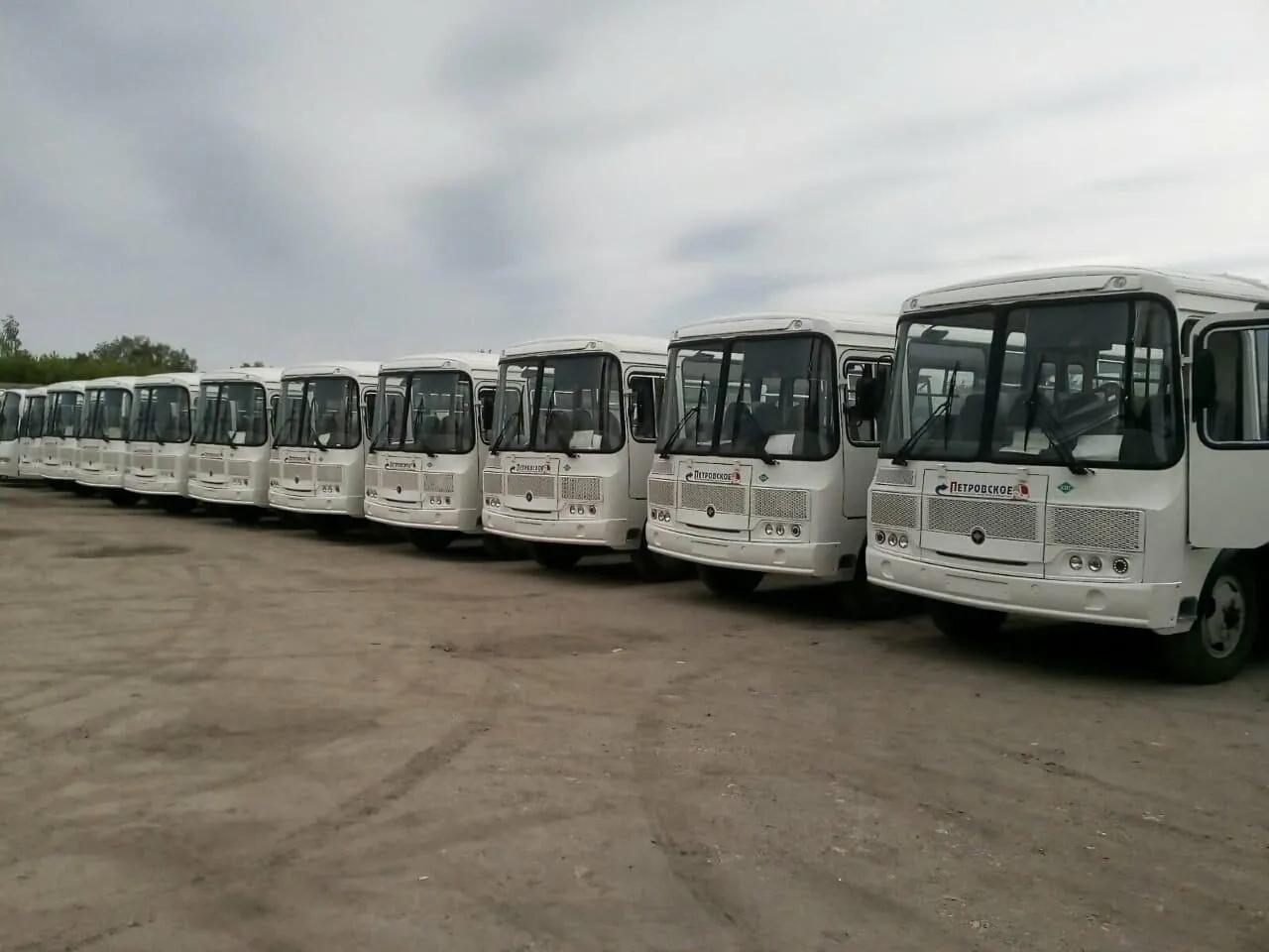 """В АО """"Петровское АТП"""" поступили новые автобусы"""
