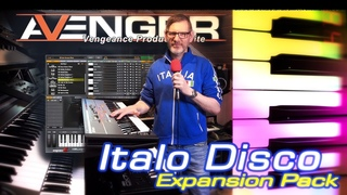 Italo Disco pack for Avenger | I was asked to deliver sounds for this. And I did!