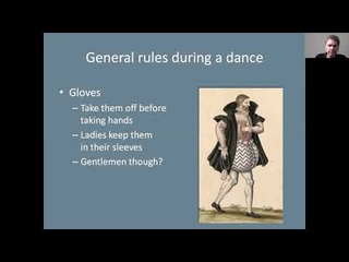 Le solite creanze - How to behave well during a dance in 16th-century Italy