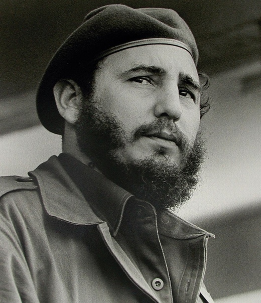 Фидель Кастро, лидер Кубинской революции, возглавивший Кубу в 1959 году.