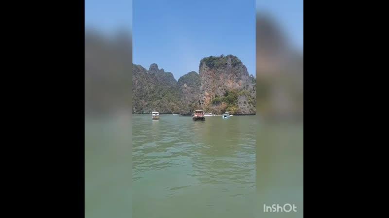 ⛴Держим курс на острова Таиланд Пхукет ПхангНга Пхипхи travelmari отпуск океан КхайНок