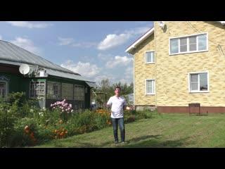 Фасадные панели под кирпич. Обзор дома. Коллекция «Кирпич-Антик»